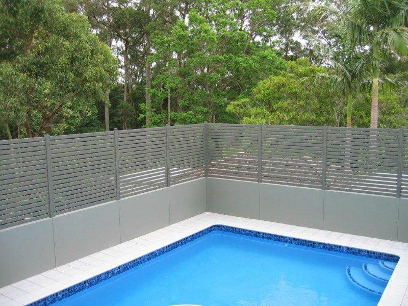 Privacy Screens Aluminium Slats Newcastle The Hunter Region